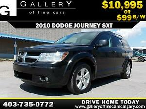 2010 Dodge Journey SXT V6 $99 bi-weekly APPLY NOW DRIVE NOW