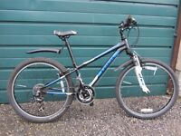 Boy's Alloy Mountain Bike, Trek MT 220 with 21 Shimano Revogears: 8 -12 Year Old