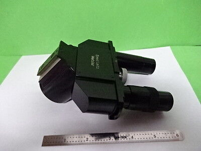 Microscope Part Ortholux Ernst Leitz Germany Head Tight Tube As Is Af-e-53