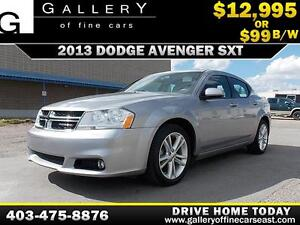 2013 Dodge Avenger SXT $99 BI-WEEKLY APPLY NOW DRIVE NOW