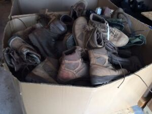 Military / Work / Safety / Motorcycle / Hiking  Boots