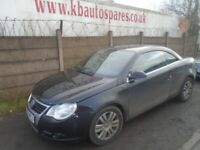 breaking for spares vw eos 2008 2.0 tdi