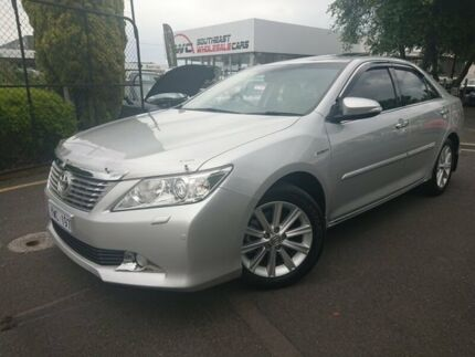 2012 Toyota Aurion GSV50R Presara Silver 6 Speed Sports Automatic Sedan Seaford Frankston Area Preview