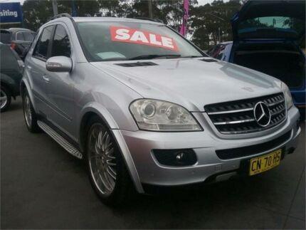 2006 Mercedes-Benz ML500 W164 Luxury Silver 7 Speed Sports Automatic Wagon