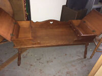 Solid Maple Coffee Table - $60