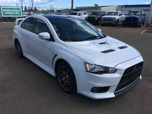 2015 Mitsubishi Lancer Evolution GSR Final Edition