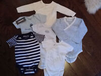Baby boy clothing & swaddlers great brands/condition 0-3 months