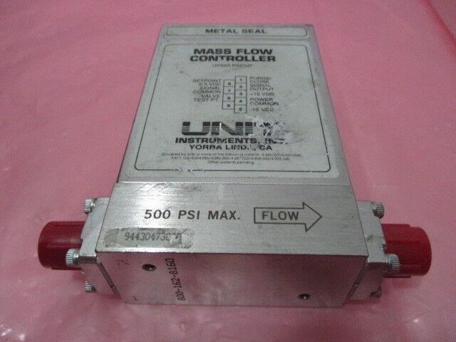 Unit Instruments UFC-8160 Mass Flow Controller, MFC, SiH4, 300 SCCM, 424975