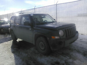 2008 Jeep Patriot 4x4 manual