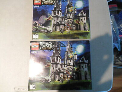 LEGO 9468 Monster Fighters Instruction Manual Only - book 1 & 2