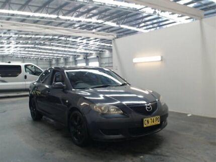2005 Mazda 3 BK Neo Black 5 Speed Manual Sedan Beresfield Newcastle Area Preview
