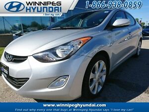 2011 Hyundai Elantra Limited Leather Heated Seats Sunroof