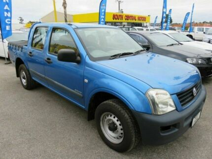 2004 Holden Rodeo RA LX Blue 5 Speed Manual Dual Cab Reynella Morphett Vale Area Preview