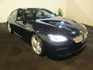 2013 BMW 650i F06 Gran Coupe Black 8 Speed Automatic Coupe Clemton Park Canterbury Area Preview