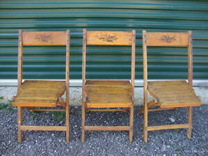 3 Mid Century Dowd Chairs