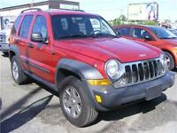 2007 Jeep Liberty Sport 4X4 Only 108000 KM Mint Condtion. Hamilton Ontario Preview