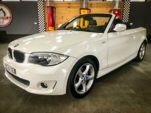 2012 BMW 1 E87 20I White 6 Speed Automatic Convertible Fyshwick South Canberra Preview