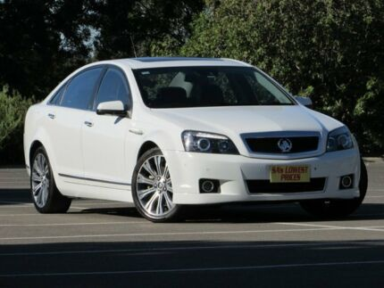 2015 Holden Caprice WN MY15 V White 6 Speed Sports Automatic Sedan Blair Athol Port Adelaide Area Preview