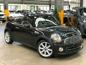 2012 Mini Cabrio R57 LCI Cooper Highgate Convertible 2dr Steptronic 6sp 1.6i Brown Sports Automatic Port Melbourne Port Phillip Preview