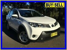 2013 Toyota RAV4 ZSA42R GX (2WD) White Continuous Variable Wagon Lansvale Liverpool Area Preview