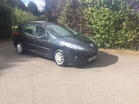 Peugeot 207 Sw 1.6 Diesel Year 2011 TAX £20, MOT