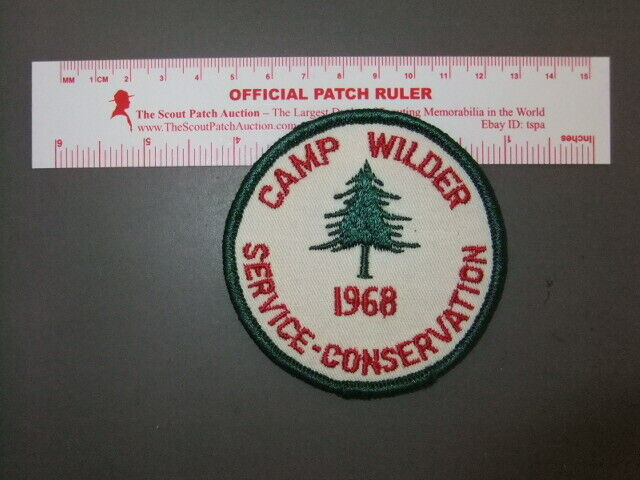 Boy Scout Camp Wilder  8604Z