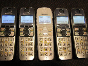 6 Panasonic or Vtech Home Phone Sets with Bluetooth/Link-to-Cell Kitchener / Waterloo Kitchener Area image 2