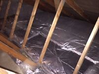 7 rolls of KNAUF space blanket loft insulation; easy to lay covers over 31m2; each roll 4m lx1.14m w