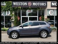 2009 Mazda CX-7 GS* AWD* FULLY LOADED* LEATHER