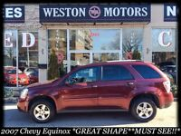2007 CHEVY EQUINOX *GREAT SHAPE*FULLY LOADED*MUST SEE!*