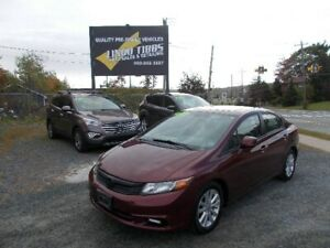 2012 Honda Civic Sdn EX WITH SUNROOF