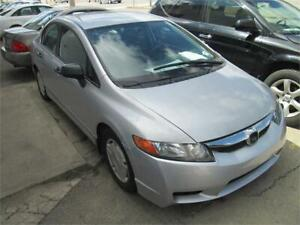 2011 Honda Civic DX-G 1.8L FWD| 169Kms with two sets of keys.