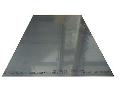 316 Stainless Steel Sheet Annealed .075 Thick X 24 Wide X 36 Length 1 Unit