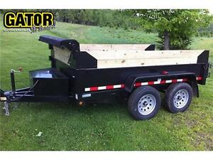 DOMPEUR GATOR 6 X 12 --- 9850 LBS ---PAS INSPECTION SAAQ---PROMO
