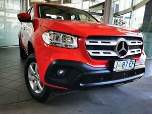 2020 Mercedes-Benz X-Class 470 X250d 4MATIC Progressive Red 7 Speed Sports Automatic Utility
