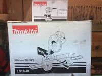 new makita LS1040 mitre saw + RT0700cx4 router trimmer. 240v. chopsaw ls1040 + rt0700cx4