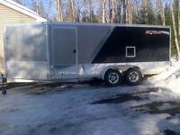 Nice Aluminum enclosed ATV/Sled trailer Custom