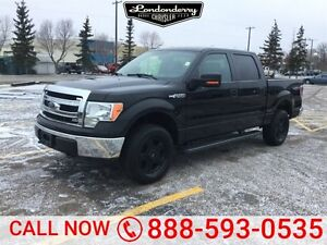 2013 Ford F-150 4WD SUPERCREW XLT Accident Free,