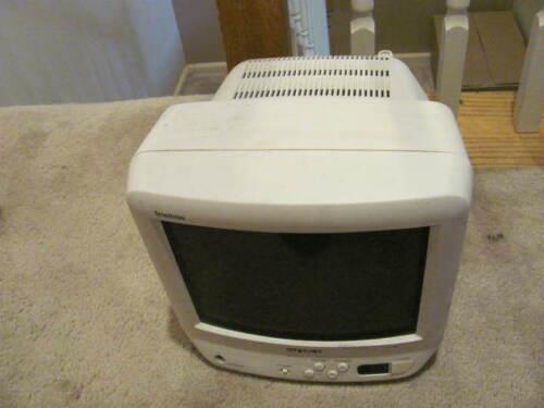 "SONY Trinitron KV-9PT50 9"" CRT Color Retro Gaming TV 1996, TESTED WORKS"