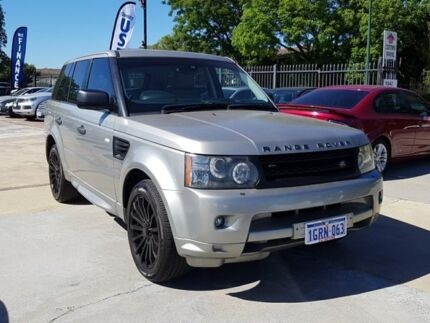 2011 Land Rover Range Rover Sport L320 11MY TDV6 Beige 6 Speed Sports Automatic Wagon St James Victoria Park Area Preview