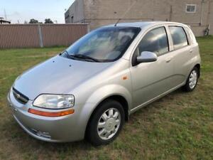 2004 Chevrolet Aveo just 74000 Kms $1300