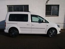 2013 Volkswagen Caddy 2K MY13 TDI320 Edition 30 White Auto Dual Clutch Wagon Petersham Marrickville Area Preview
