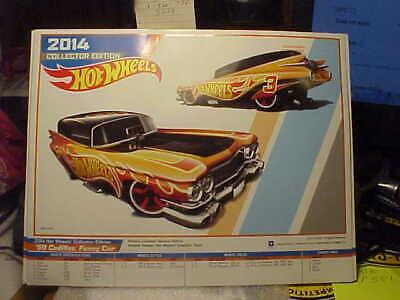 Hot Wheels E-Sheet 2014 Collector Edition '59 Cadillac Funny Car