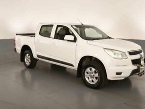2013 Holden Colorado RG LT (4x4) White 6 Speed Automatic Crew Cab Pickup