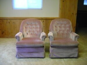 Two comfortable chairs