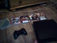 ps3 with 5 games for swap for a xbox
