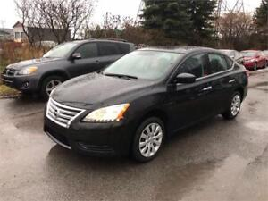 2014 Nissan Sentra S 45768 KM, Safety & ETEST for ON or QC INCL.