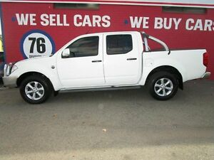 2012 Nissan Navara D40 S6 MY12 ST 25th Anniversary White 5 Speed Automatic Utility Welshpool Canning Area Preview