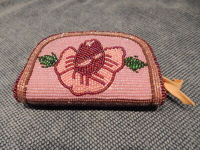 Craft Beaded Coin Purse - Beautiful Hand Crafted Beaded Coin Purse, Tina