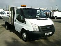 Ford Transit T350 MWB S/CAB 100PS DIESEL MANUAL WHITE (2012)